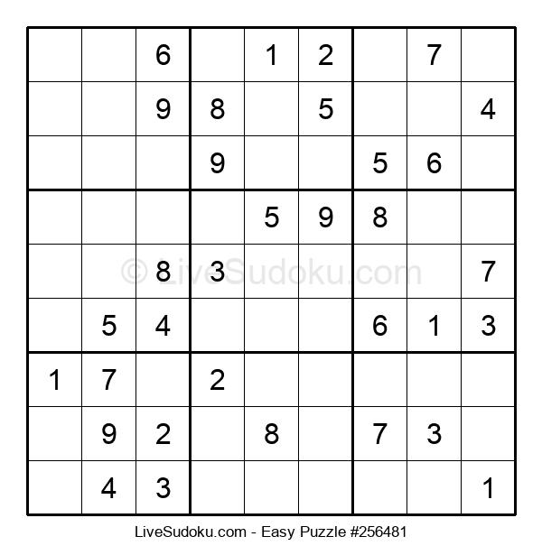 Beginners Puzzle #256481