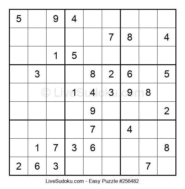 Beginners Puzzle #256482