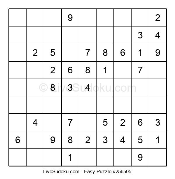 Beginners Puzzle #256505