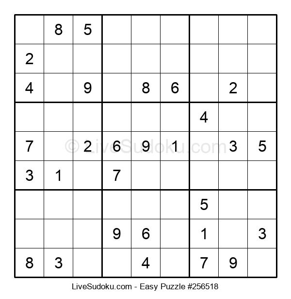 Beginners Puzzle #256518