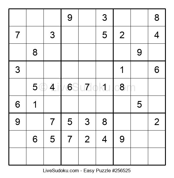 Beginners Puzzle #256525