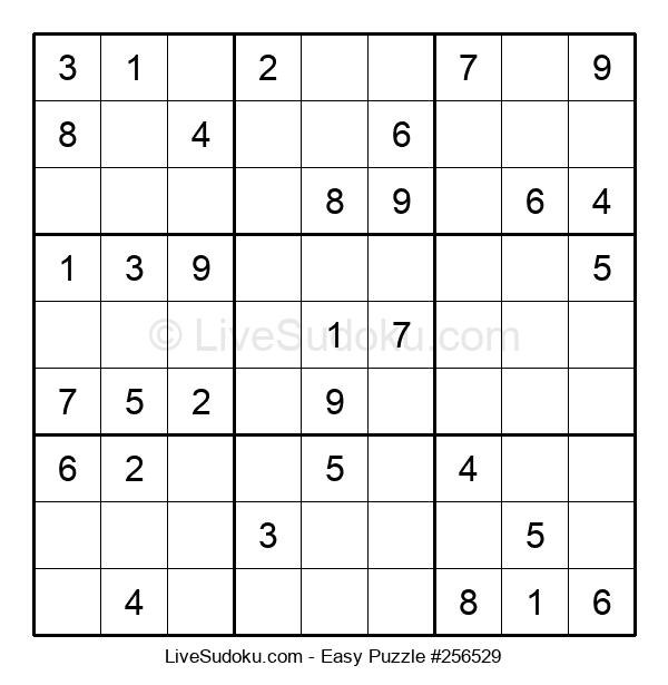 Beginners Puzzle #256529