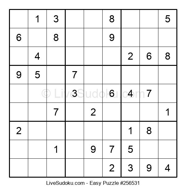 Beginners Puzzle #256531