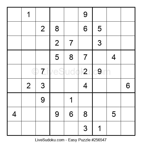 Beginners Puzzle #256547