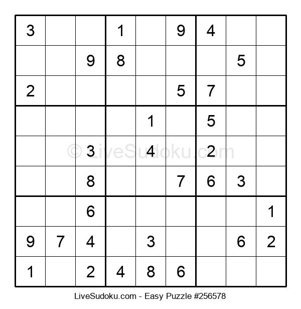 Beginners Puzzle #256578