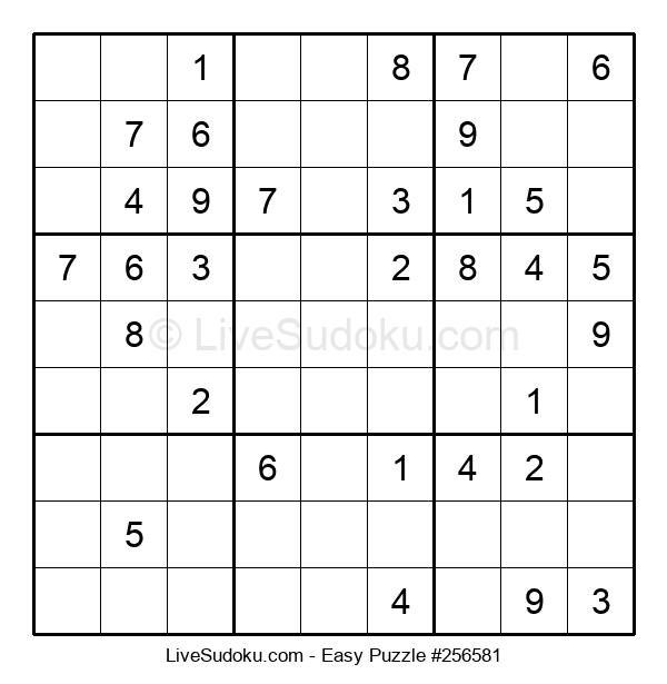 Beginners Puzzle #256581