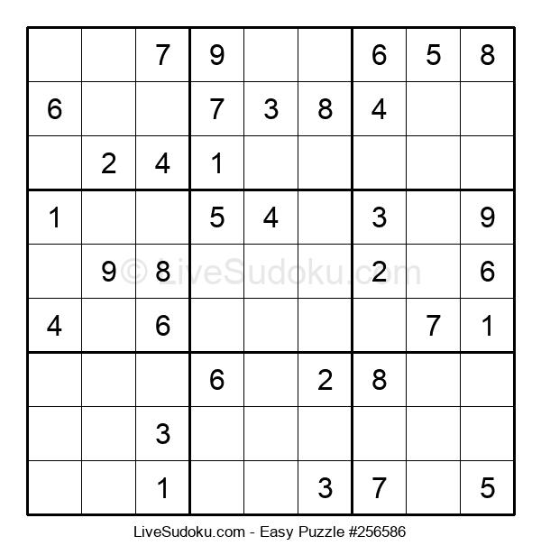 Beginners Puzzle #256586