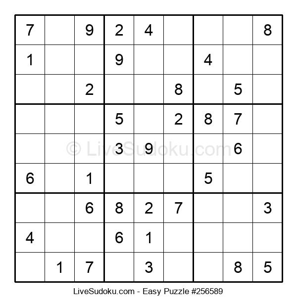 Beginners Puzzle #256589
