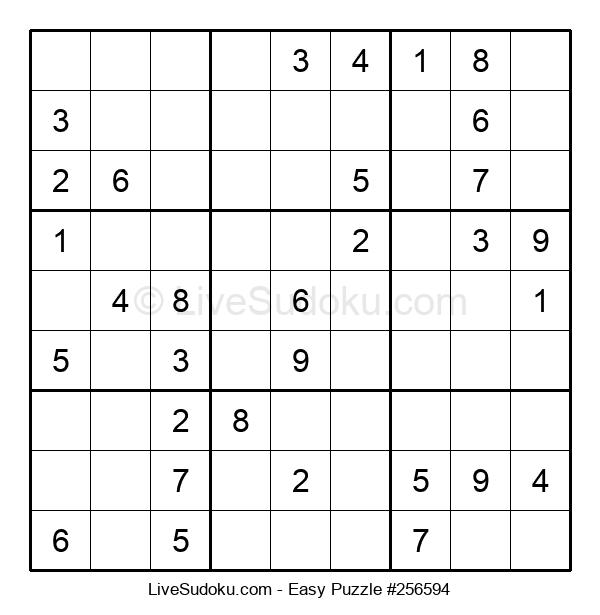 Beginners Puzzle #256594