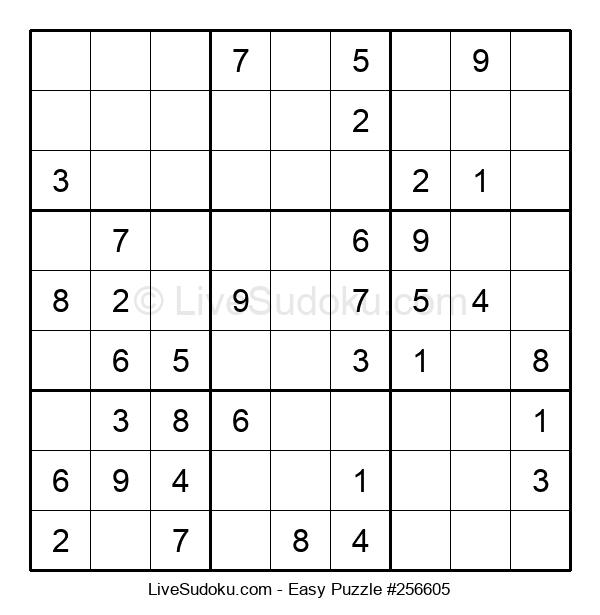 Beginners Puzzle #256605