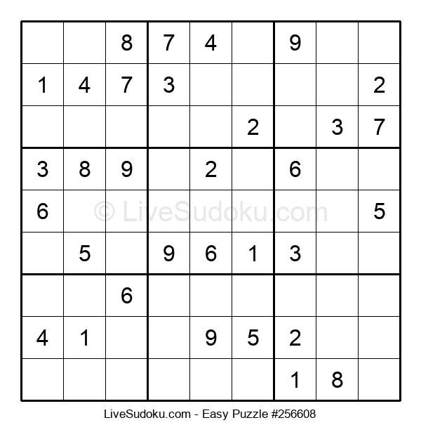 Beginners Puzzle #256608
