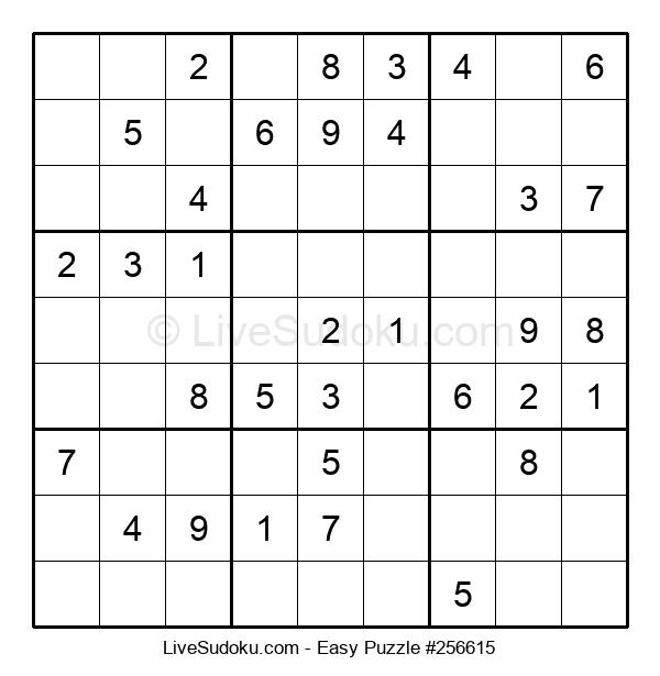 Beginners Puzzle #256615
