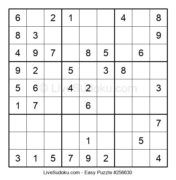 Beginners Puzzle #256630
