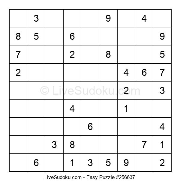 Beginners Puzzle #256637