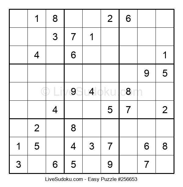 Beginners Puzzle #256653