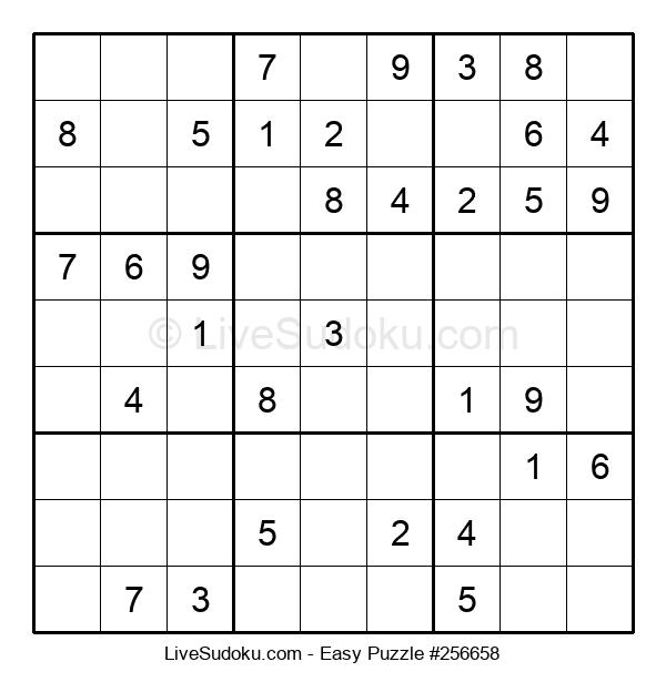 Beginners Puzzle #256658