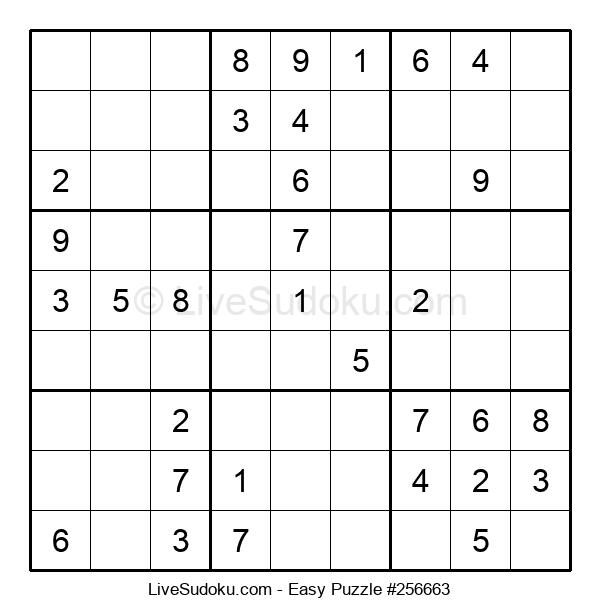 Beginners Puzzle #256663