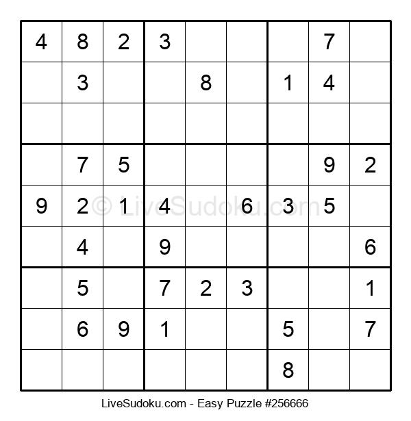 Beginners Puzzle #256666