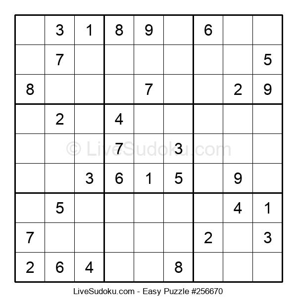 Beginners Puzzle #256670