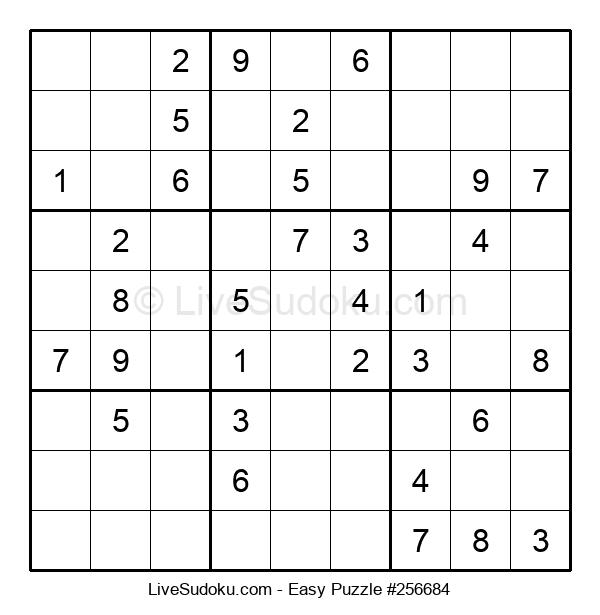 Beginners Puzzle #256684