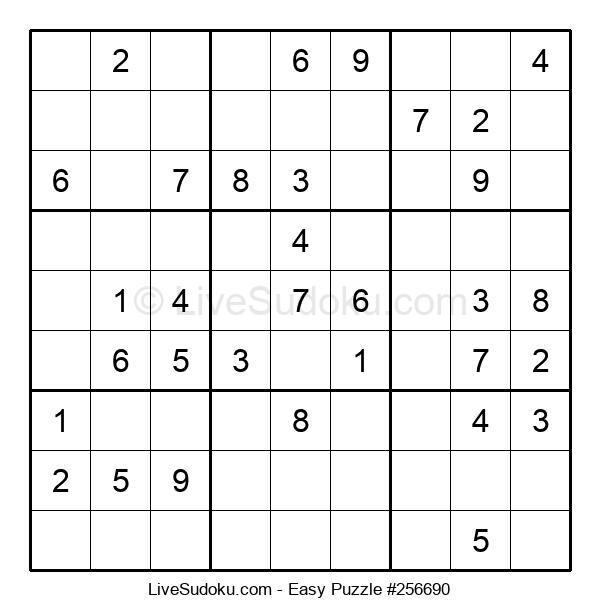 Beginners Puzzle #256690