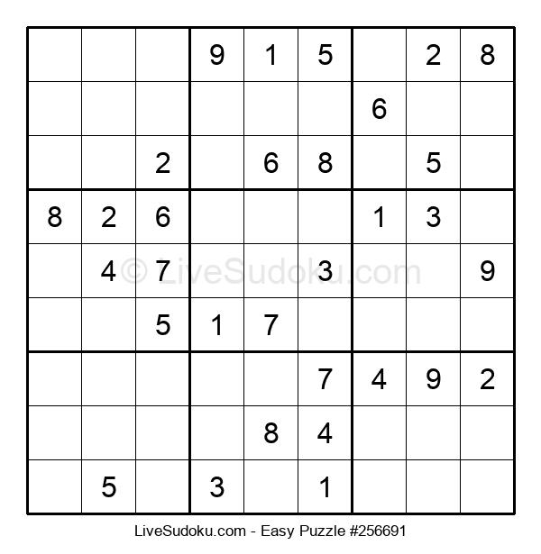 Beginners Puzzle #256691