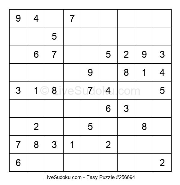 Beginners Puzzle #256694