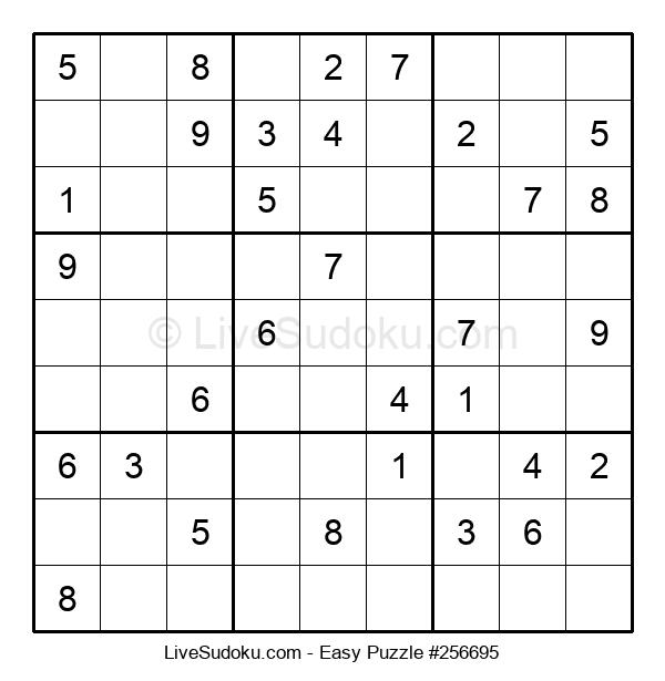 Beginners Puzzle #256695