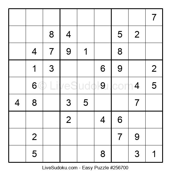 Beginners Puzzle #256700