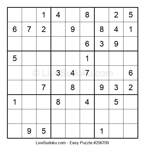 Beginners Puzzle #256709