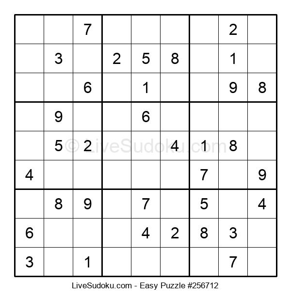Beginners Puzzle #256712