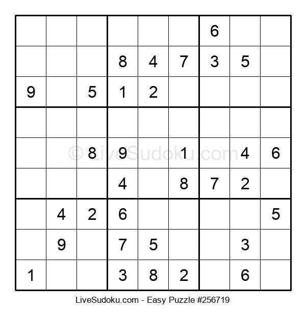 Beginners Puzzle #256719