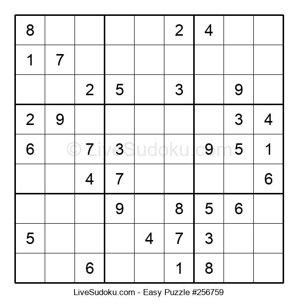 Beginners Puzzle #256759