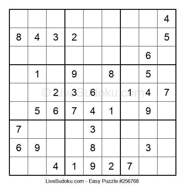 Beginners Puzzle #256768