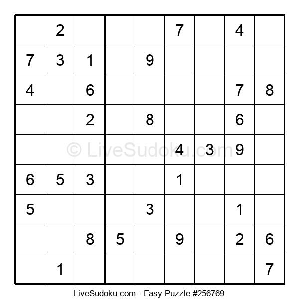 Beginners Puzzle #256769