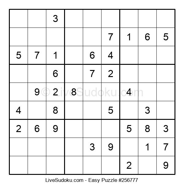 Beginners Puzzle #256777