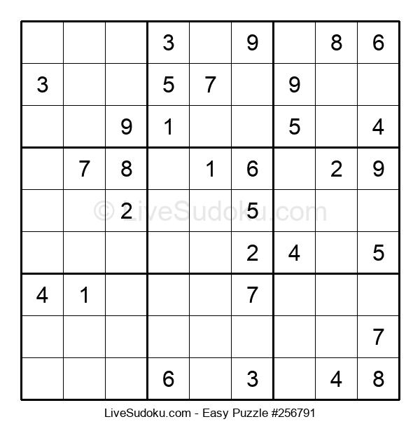 Beginners Puzzle #256791