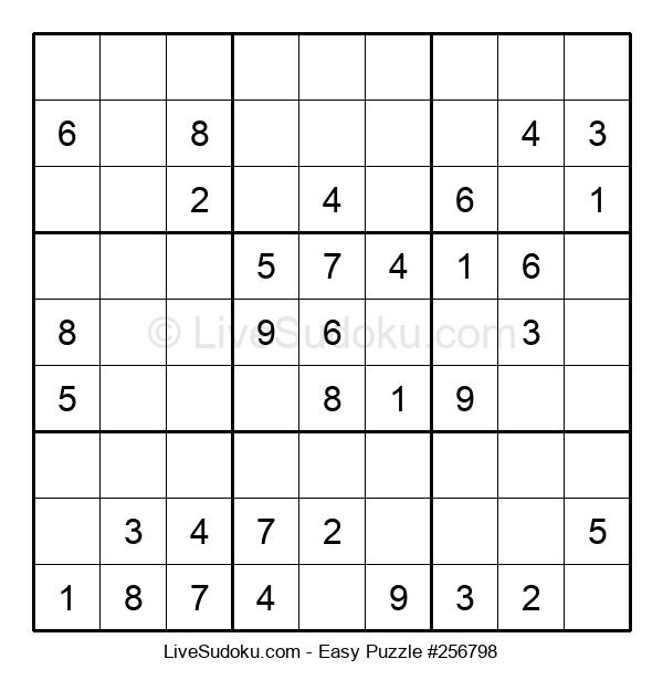 Beginners Puzzle #256798