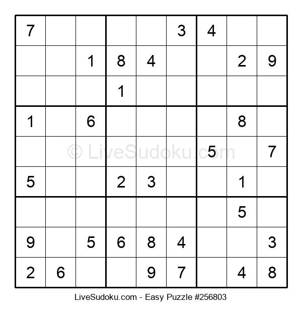 Beginners Puzzle #256803