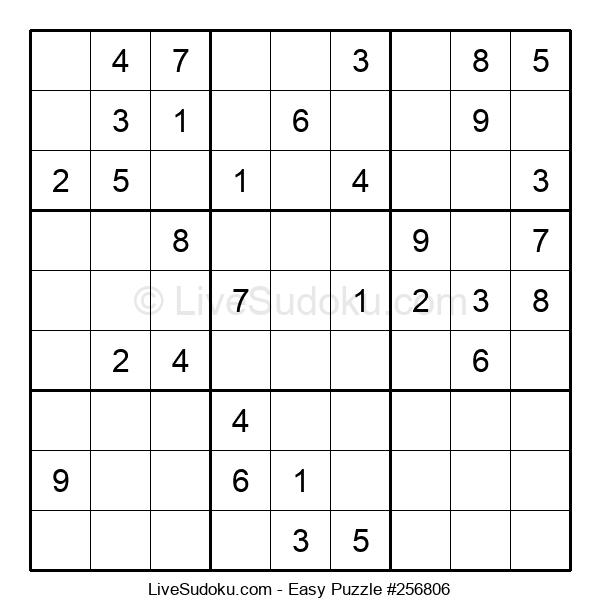 Beginners Puzzle #256806
