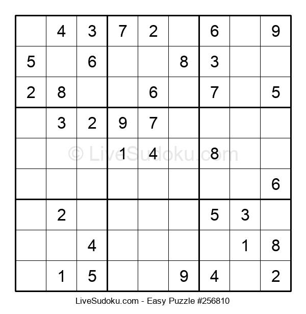 Beginners Puzzle #256810