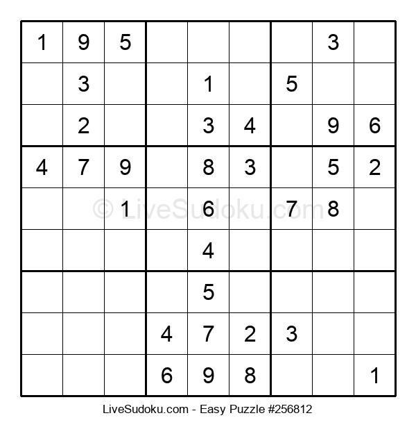Beginners Puzzle #256812