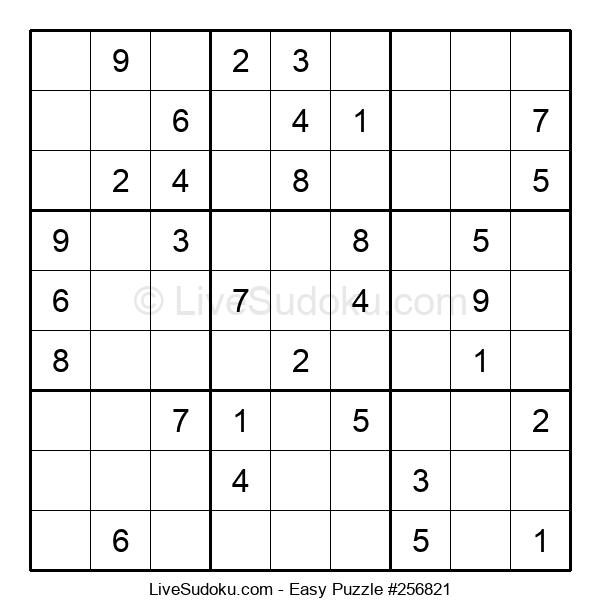 Beginners Puzzle #256821