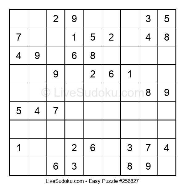 Beginners Puzzle #256827