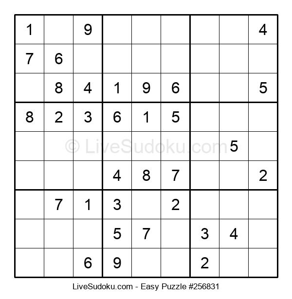 Beginners Puzzle #256831