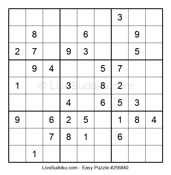 Beginners Puzzle #256840