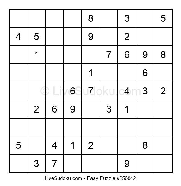 Beginners Puzzle #256842