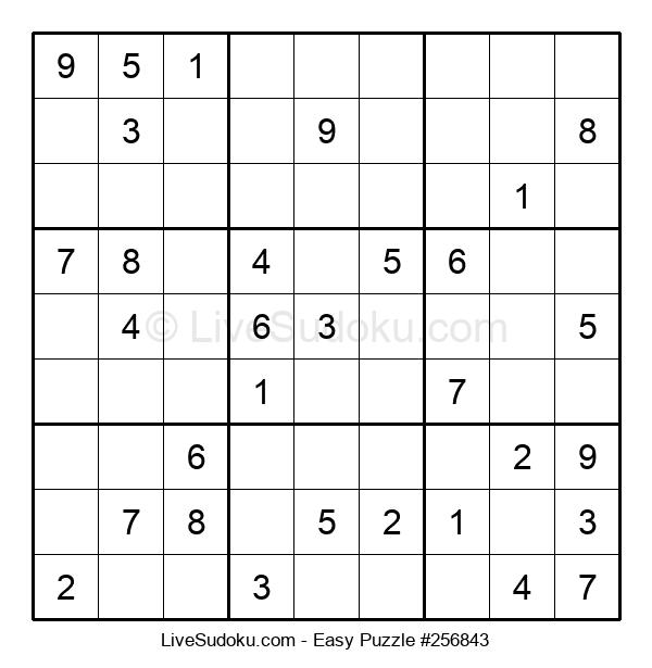 Beginners Puzzle #256843