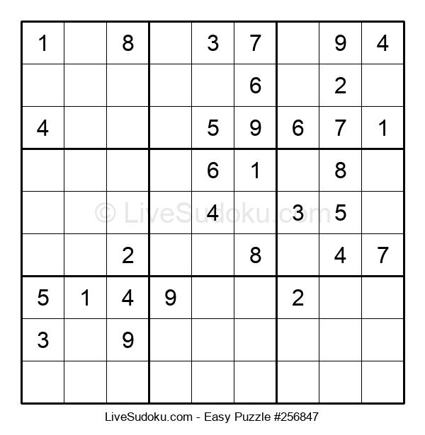 Beginners Puzzle #256847