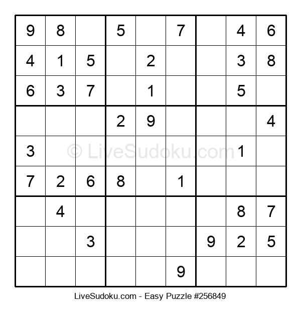 Beginners Puzzle #256849